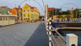 @ Emmabrug w Willemstad, Curaçao Zdjęcie Royalty Free
