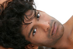 Emmanuel 12. Handsome young exotic man Royalty Free Stock Images