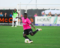 Emmanuel Adjetey Charleston Battery Arkivfoton