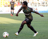 Emmanuel Adjetey Charleston Battery Arkivfoto