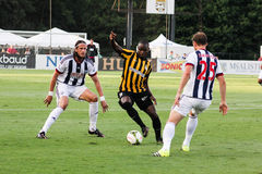 Emmanuel Adjetey Charleston Battery Royaltyfri Foto