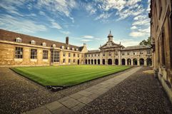 Emmanuel College Royalty Free Stock Image