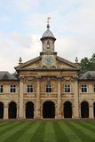Emmanuel College Cambridge, England arkivfoto
