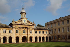 Emmanuel College, Cambridge, England Royalty Free Stock Images
