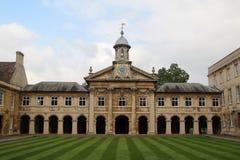 Emmanuel College, Cambridge, Inghilterra Fotografia Stock