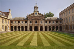 Emmanuel College Cambridge Stock Photos