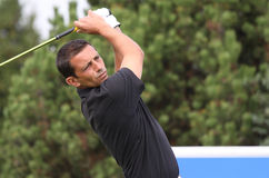 Emmanuel Darfour at the Golf Open de Paris 2009 Stock Images