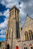 Emmanuel Episcopal Church in Baltimore, Maryland. Stock Photography