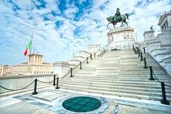 emmanuel ii italy monument rome till victoren Royaltyfri Foto
