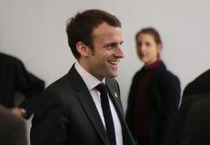 Emmanuel Macron Imagen de archivo libre de regalías