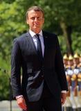 Emmanuel Macron Стоковое фото RF