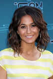 Emmanuelle Chriqui arrives at the Disney XD's  Stock Image
