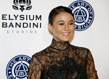 Emmanuelle Chriqui. At the Art of Elysium Celebrating the 10th Anniversary held at the Red Studios in Los Angeles, USA on January 7, 2017 Stock Image