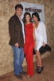Emmanuelle Chriqui, Nathan Fillion, Perrey trär igenom, Perrey Reeves- royaltyfri foto