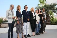 Emmanuelle Seigner, Roman Polanski, Eva Green Royalty Free Stock Photos