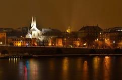 Emmaus скит Benedictine в Праге стоковая фотография