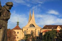 Emmaus kloster Fotografering för Bildbyråer