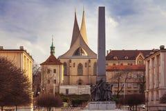 Emmaus-Kloster Prag, Tschechische Republik lizenzfreies stockbild