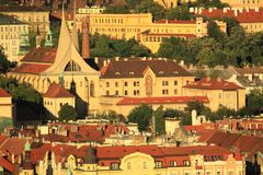 Emmaus monastery in Prague Royalty Free Stock Photo