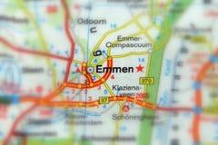 Emmen Overijsel, Nederländerna - Europa arkivbilder
