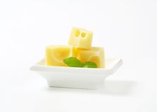 Emmental cheese Royalty Free Stock Photo