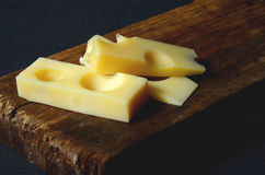 Emmental cheese Royalty Free Stock Image