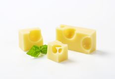 Emmental cheese Royalty Free Stock Photography