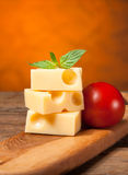 Emmental cheese Stock Photography