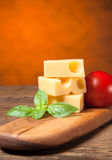 Emmental cheese Stock Images