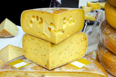Emmentaler cheese Stock Images
