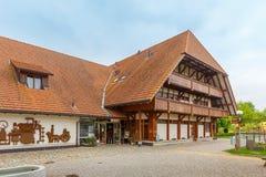 Emmentaler-Schweizer Käsefabrik vom 21. Jahrhundert Lizenzfreie Stockbilder