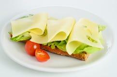 Emmenthaler-Sandwich Stockfotografie