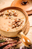 Emmer and barley soup Royalty Free Stock Image