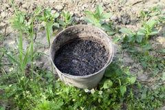 Mest Voor Tuin : Mest voor de tuin stock afbeelding. afbeelding bestaande uit aarde