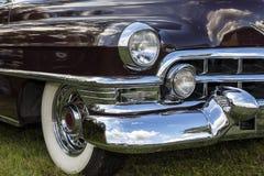 Emmering, Germania, il 19 settembre 2015: Annata di Cadillac Fleetwood Immagine Stock Libera da Diritti