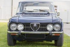 Emmering, Germania, il 19 settembre 2015: Automobile dell'annata di Alfa Romeo Fotografia Stock Libera da Diritti