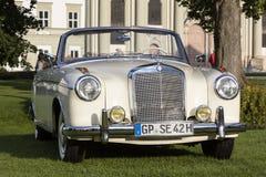 Emmering, Germany, 19 September 2015: Mercedes-Benz vintage car Stock Images