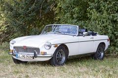 Emmering, Germany, 19 September 2015: MG vintage car Stock Photography