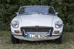 Emmering, Germany, 19 September 2015: MG vintage car Royalty Free Stock Image