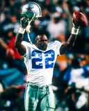 Emmitt Smith. Dallas Cowboys Hall of Fame Runningback Emmitt Smith. (Image taken from color slide Royalty Free Stock Image