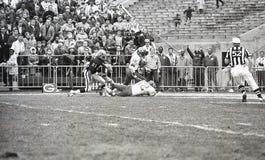 Emmitt Thomas #18 e Johnny Robinson #42, Kansas City Chiefs Foto de Stock
