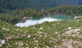 Emmons morena, Mt Dżdżystym park narodowy obraz royalty free
