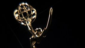 Emmy Award Loopable Close Up. This shot of an Emmy Television Award is part of a collection, I have loopable rotations, close ups, wide shots, transitions