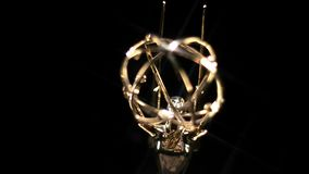 Emmy Award Rotate Star Filter almacen de video