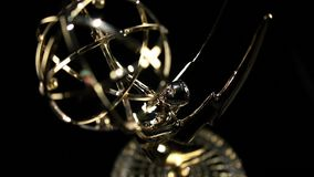 Emmy Award tilt in stock video