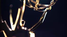 Emmy Award Transition stock video