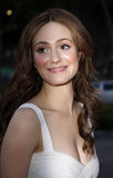 Emmy Rossum. Arrives to the Launch of the Scarlet HD TV Series held at the Pacific Design Center in West Hollywood, California, United States on April 28, 2008 Royalty Free Stock Photo