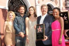 Emmy Rossum, John Wells, Justin Chatwin, Shanola Hampton Royalty Free Stock Image