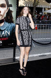 Emmy Rossum. At the Los Angeles Premiere of `Orphan` held at the Mann Village Theater in Westwood, California, United States on July 21, 2009 Stock Photography