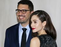 Emmy Rossum and Sam Esmail Royalty Free Stock Photos